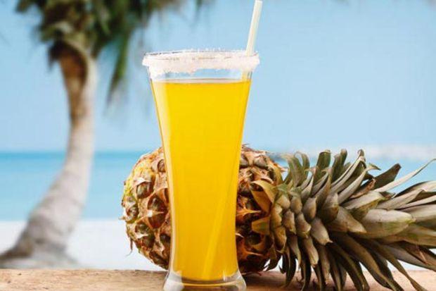 Ananas suyu ile güzelleşin…