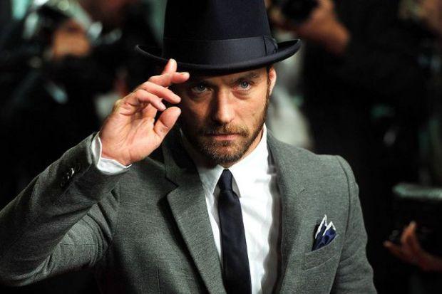 Dünyaca ünlü aktör Jude Law'ın evi…