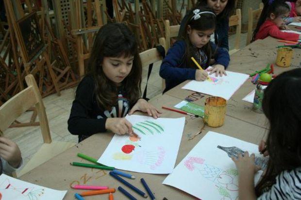 Haydi çocuklar sanat ve eğlenceye davetlisiniz!