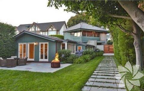 Leonardo DiCaprio'nun ABD'nin Los Angeles, Malibu'da bulunan evi 4 milyon dolar değerinde.