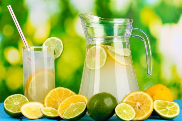 Limonlu, elmalı karışımla serinleyin...