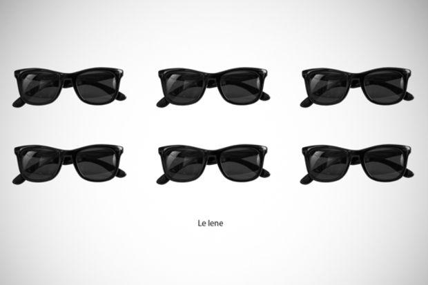Ünlüler ile bütünleşen gözlükler...