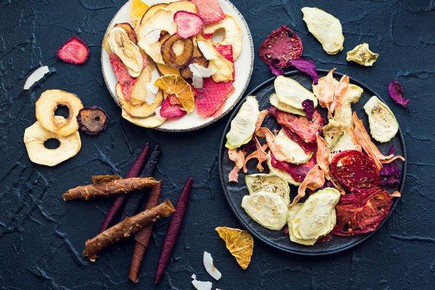 Meyve ve sebzeleri kurutma yöntemleri...