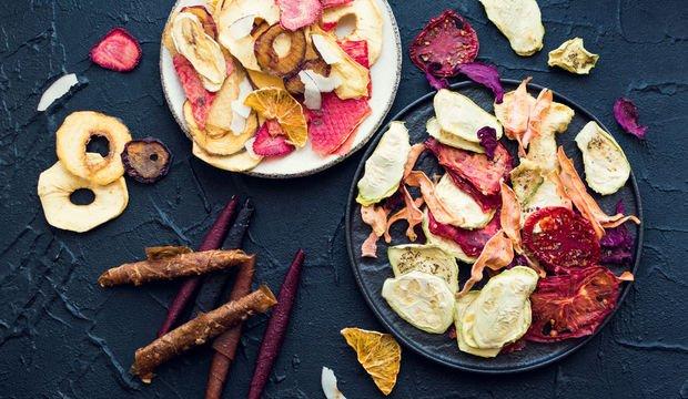 Evde meyve ve sebze kurutma yöntemleri
