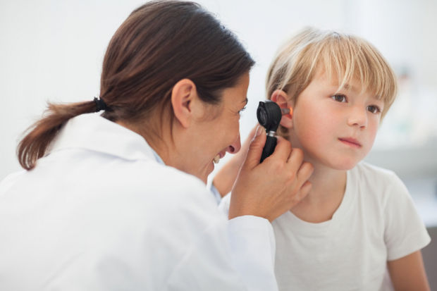 Çocuklarda orta kulak iltihabı