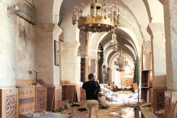 Suriye tarihini duvarlar koruyor!