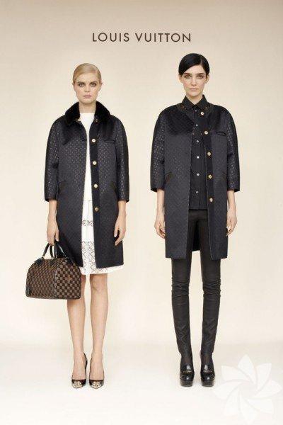 Louis Vuitton 2013-2014 Sonbahar - Kış Koleksiyonundan fotoğraflar...
