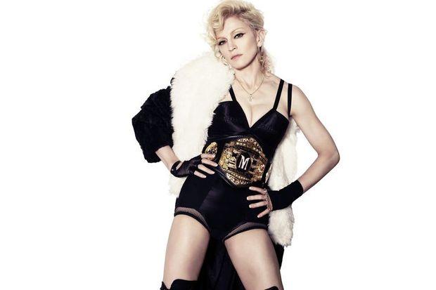 Madonna itiraf etti!