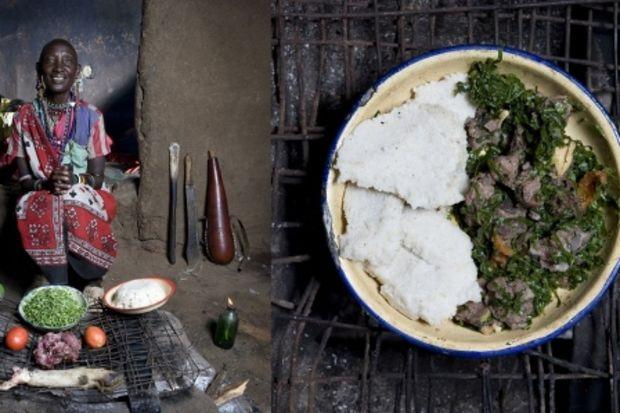 34 ülkeden kadınlar ve mutfakları...