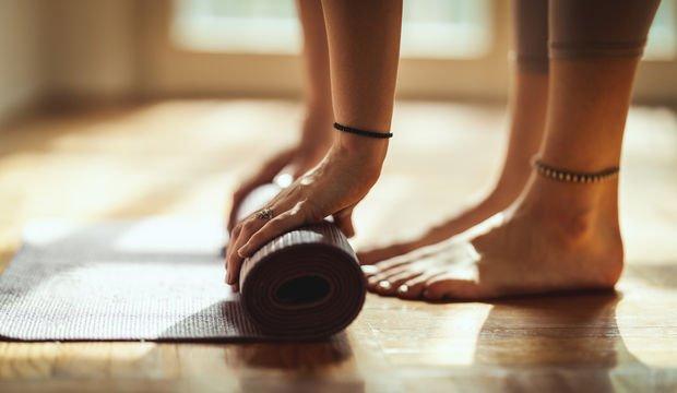 Hamile yogası: 4 pozda nefes çalışması
