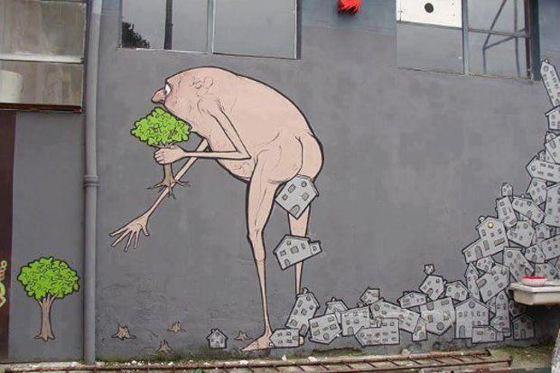 Sokak sanatının en sevilen 100'ü...
