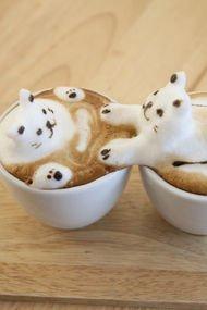 Kahvenizi 3 boyutlu alır mıydınız?