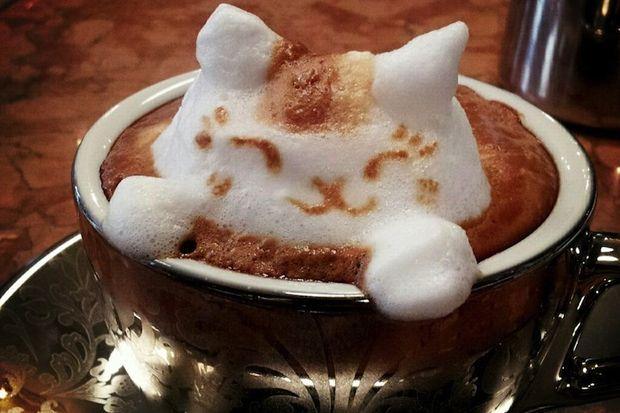 Kahvenizi 3 boyutlu alır mısını?