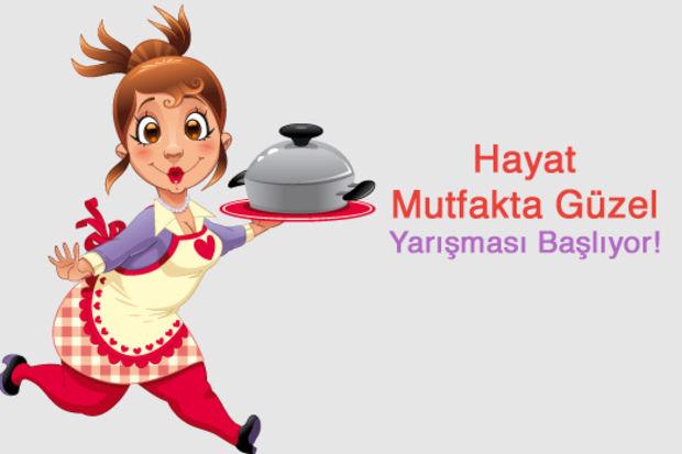 """2013 Kasım ayı """"Hayat Mutfakta Güzel"""" Yarışması!"""