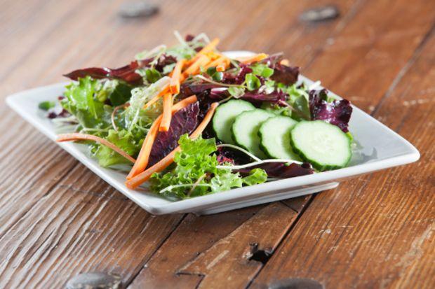 Çıtır sebze salatası