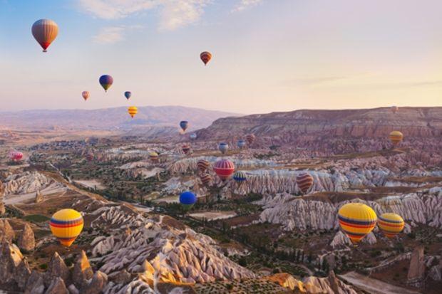 En iyi balayı güzergâhı seçildi: Kapadokya