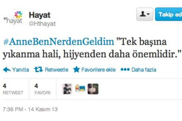 """""""Anne Ben Nerden Geldim?"""" Twitter'da..."""