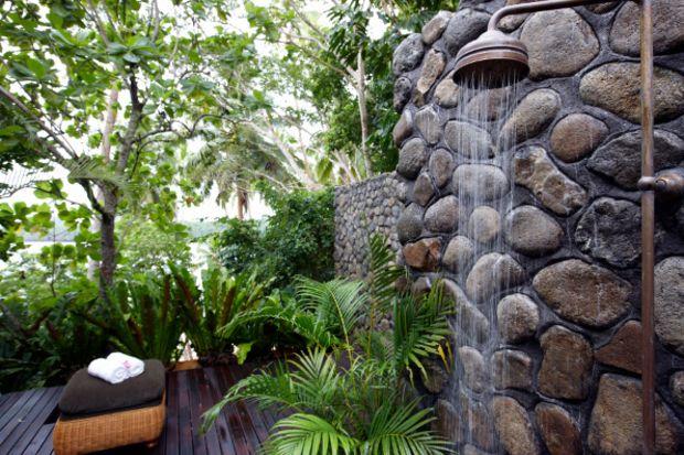 Tasarım harikası bahçe duşları...