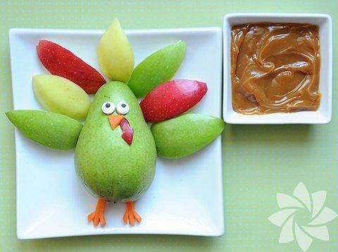 Jill Dubien adlı sanatçı, yemeklerini zor yiyen çocuklara bir çözüm buldu.