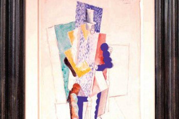 100 Euro'ya Picasso tablosu