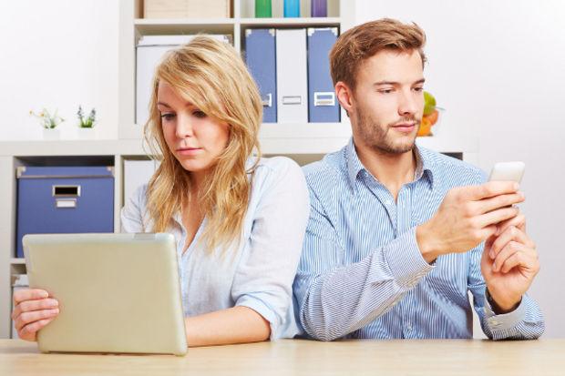 Evli çiftlerin korkusu sosyal medya