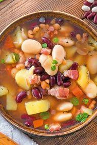 Kış sebzeleri çorbası