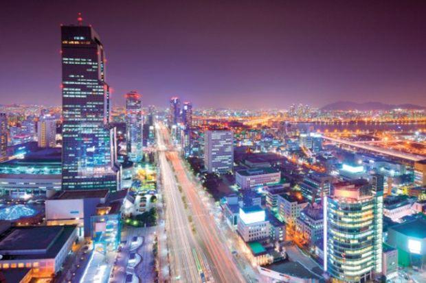 Seul'de müzik ve dans dolu bir gece