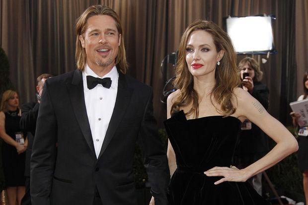 Brad ve Angelina Noel alışverişinde