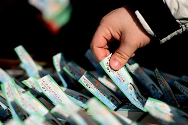 Bir Milli Piyango bilet koleksiyonu hikâyesi…