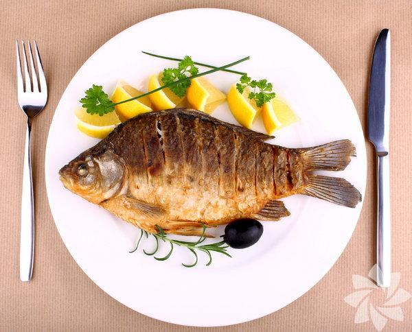 Balık: Kasların gelişmesine yardımcı olur. Sindiriminizi düzenler. Dokularınızı yeniler.