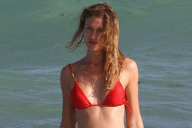 Olga Kent Miami'de yorgunluk attı
