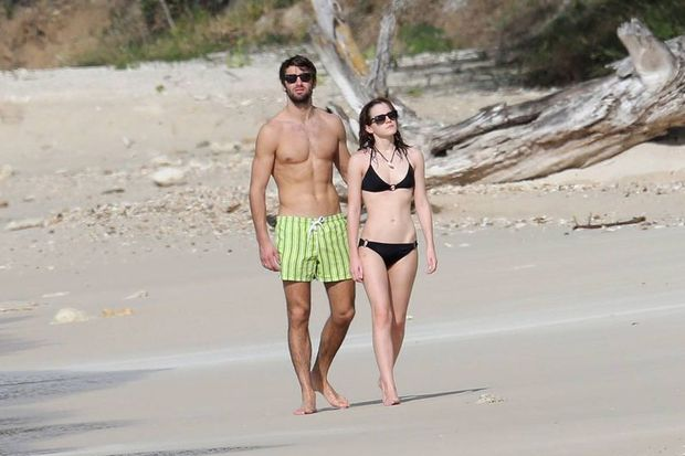 Emma Watson sevgilisi ile tatilde
