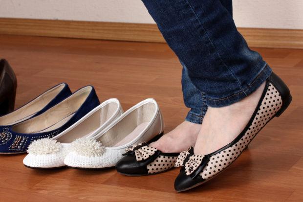 Düz ayakkabı yeniden moda