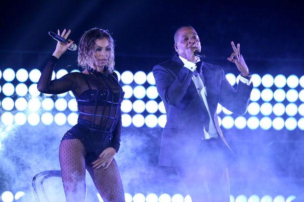 Beyonce ve Jay-Z'den Grammy düeti