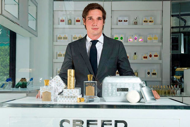 Kraliyet ailesinin resmi parfümcüsü