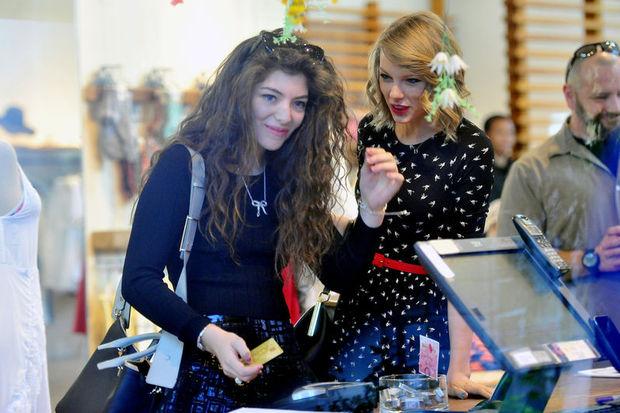 Ayrılmaz ikili: Taylor ve Lorde