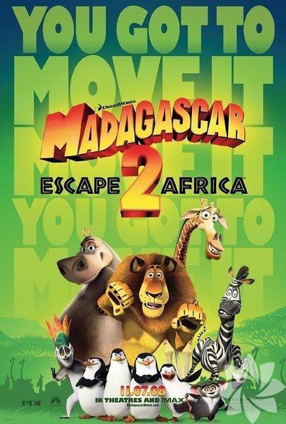 10 Mart Pazartesi akşamı saat 20.00'de Madagaskar 2: Filmde, sevimli hayvanlarımız Madagaskar adasına giden bir uçağa binecekler ve Afrika kıtasına indikten sonra aslan Alex'in ailesiyle tanışacaklar ve bu sürede birçok macera yaşayacaklardır...