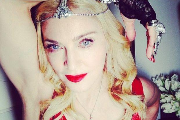 Madonna'nın pırlanta partisi