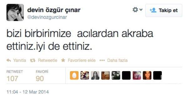 Ünlülerden Berkin Elvan'a destek tweet'leri...