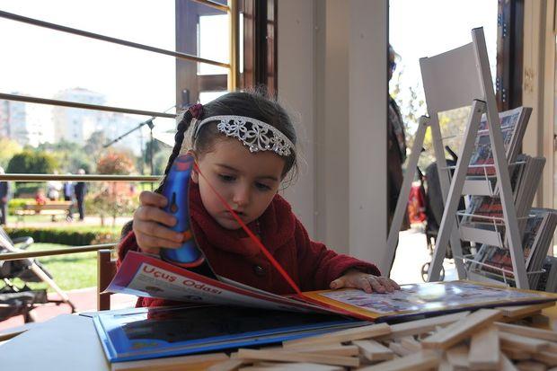 İlk İnteraktif Çocuk Kütüphanesi Kadıköy'de