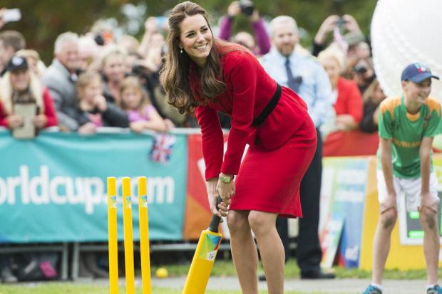 Düşes kriket maçında