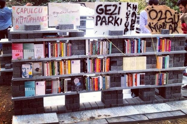 Gezi Parkı'nda takas şenliği