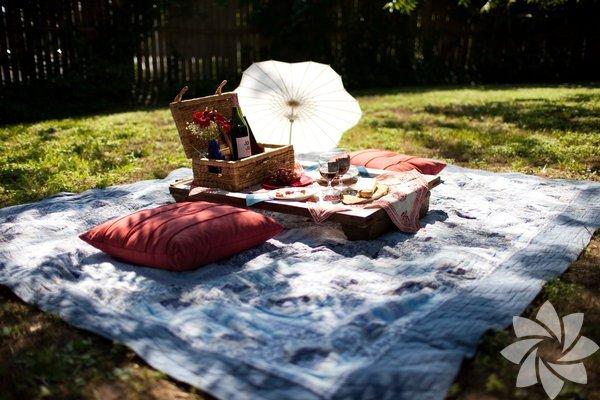 Piknikçiler için en güzel sepetler
