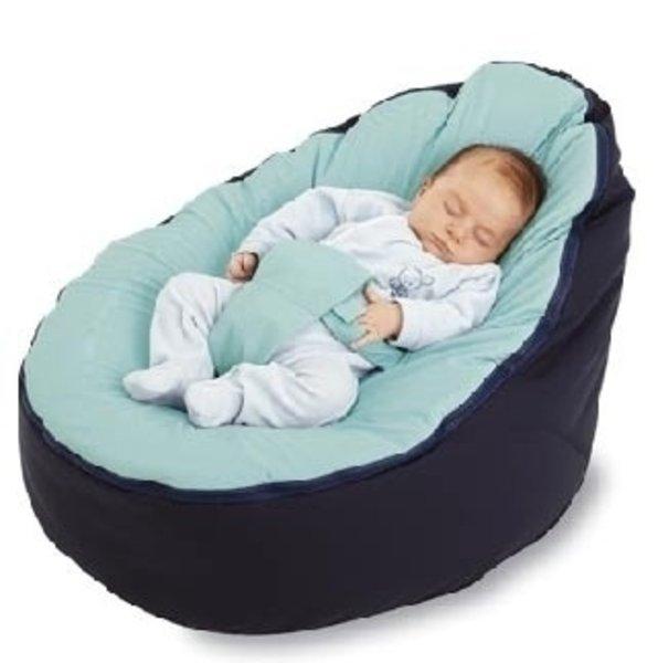 Bebek için fasulye şeklinde uyku çantası