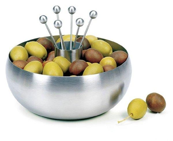 Birbirinden farklı zeytin tabakları