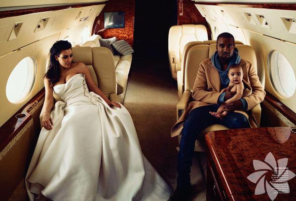 Geçen yıl Haziran ayında kızları North'u kucaklarına alan, ekim ayında  nişanlanan ABD'li reality şov yıldızı Kim Kardashian ve rap'çi Kanye  West'in ABD'nin Los Angeles kentinde evlendikleri açıklandı.