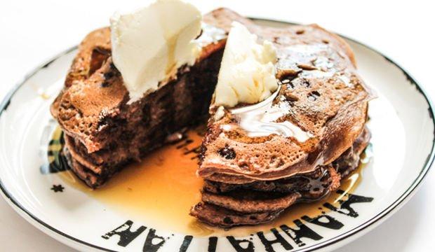 Çikolatalı pankek