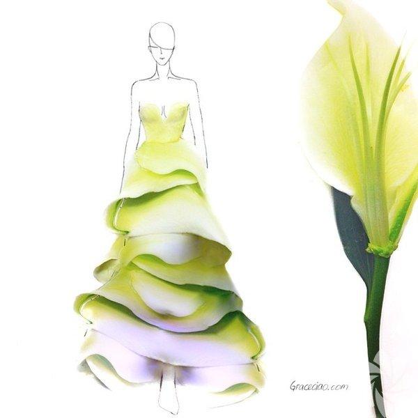 Singapur'da yaşayan Grace Cio isimli moda tasarımcı farklı bir çalışmaya imza atmış.