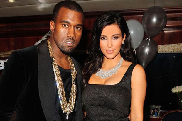 Kim ve Kanye'nin evliliği yalanmış