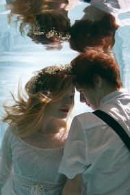 Su altında evlenmeye ne dersiniz?